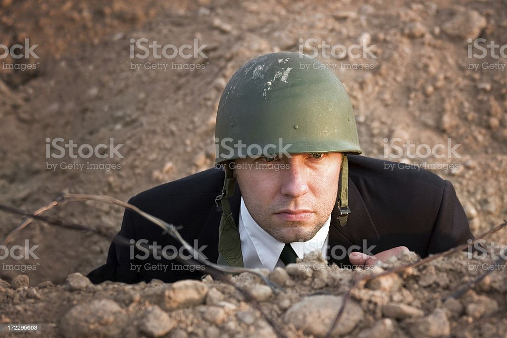 Business Tactician stock photo
