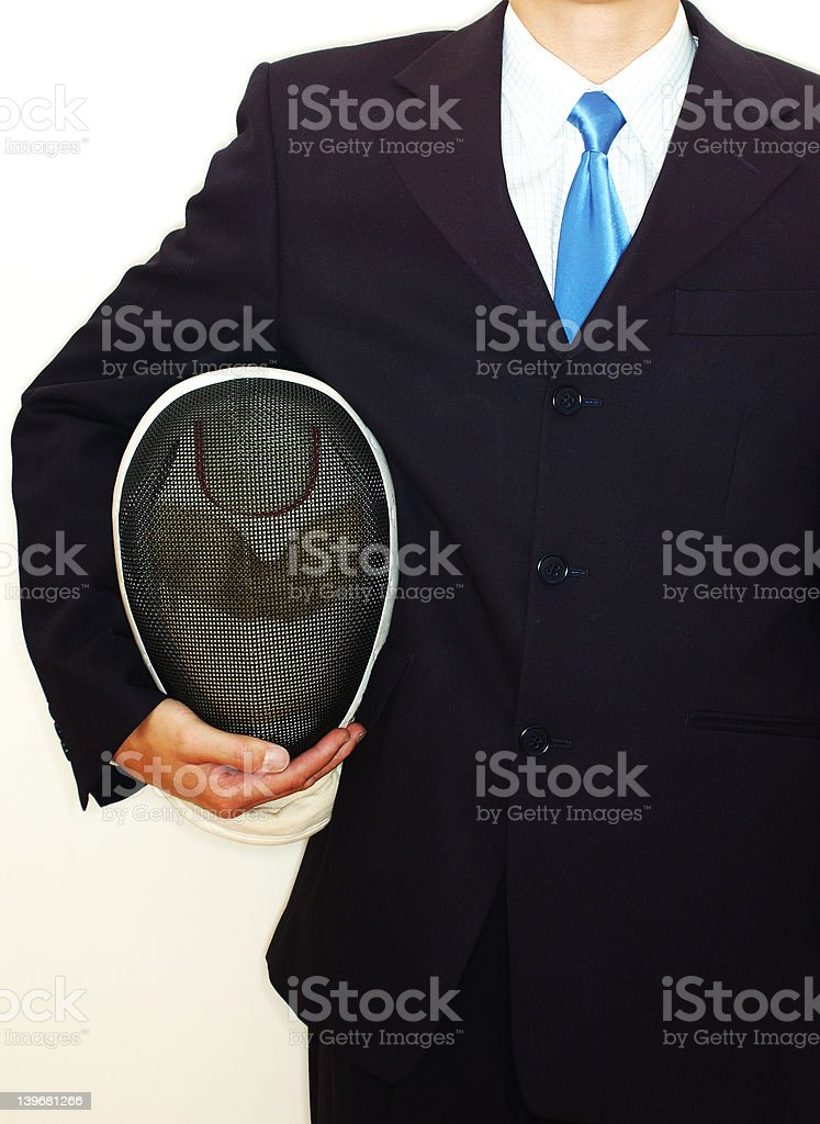 business tactics (High contrast) royalty-free stock photo