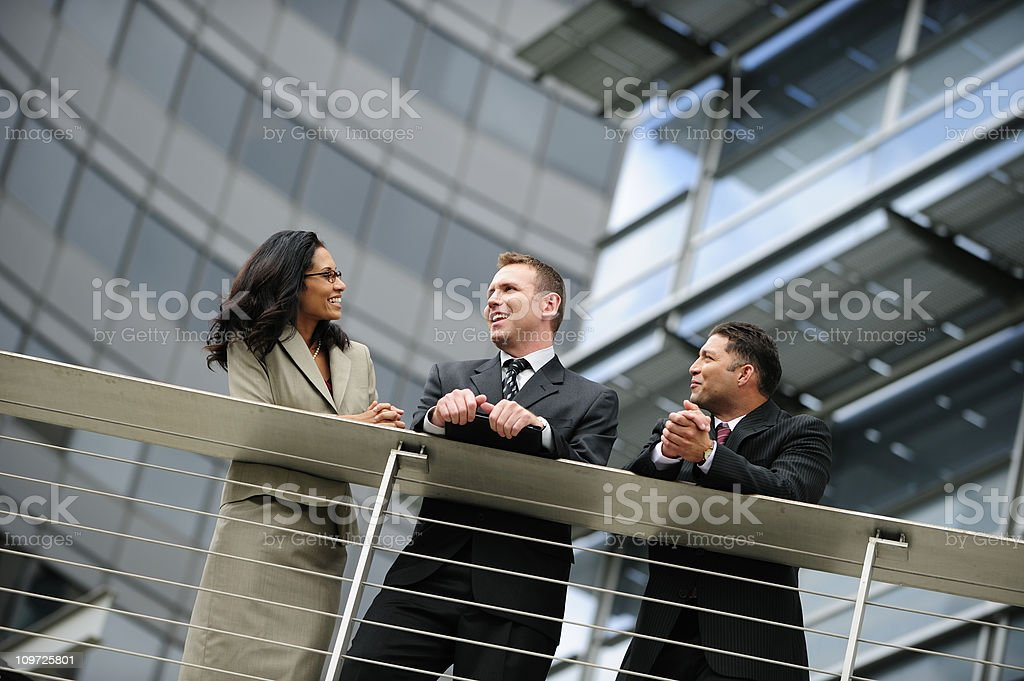 Business Talk royalty-free stock photo