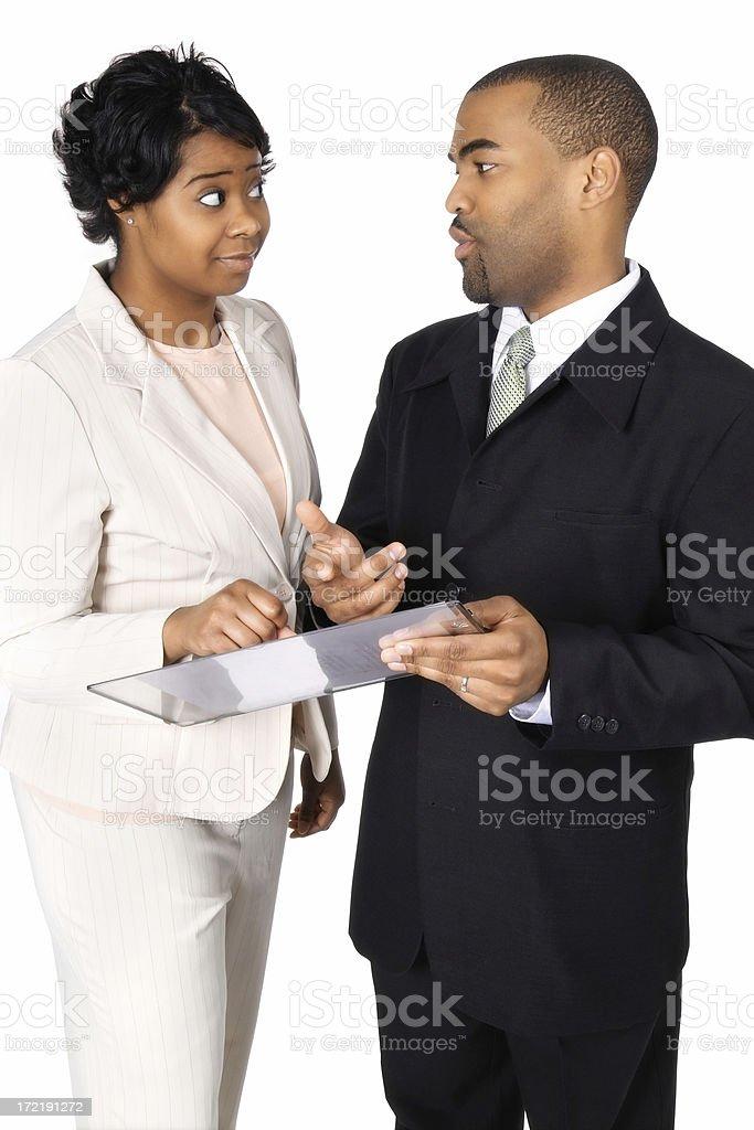 Business Talk stock photo