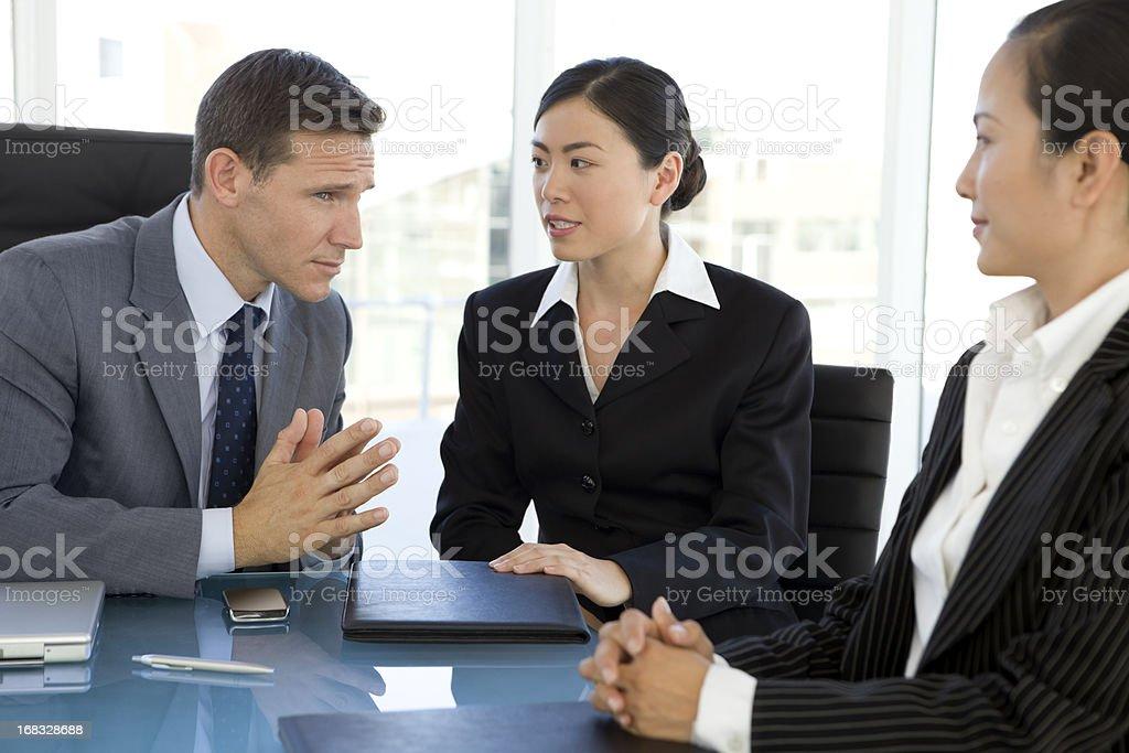 Business Talks stock photo
