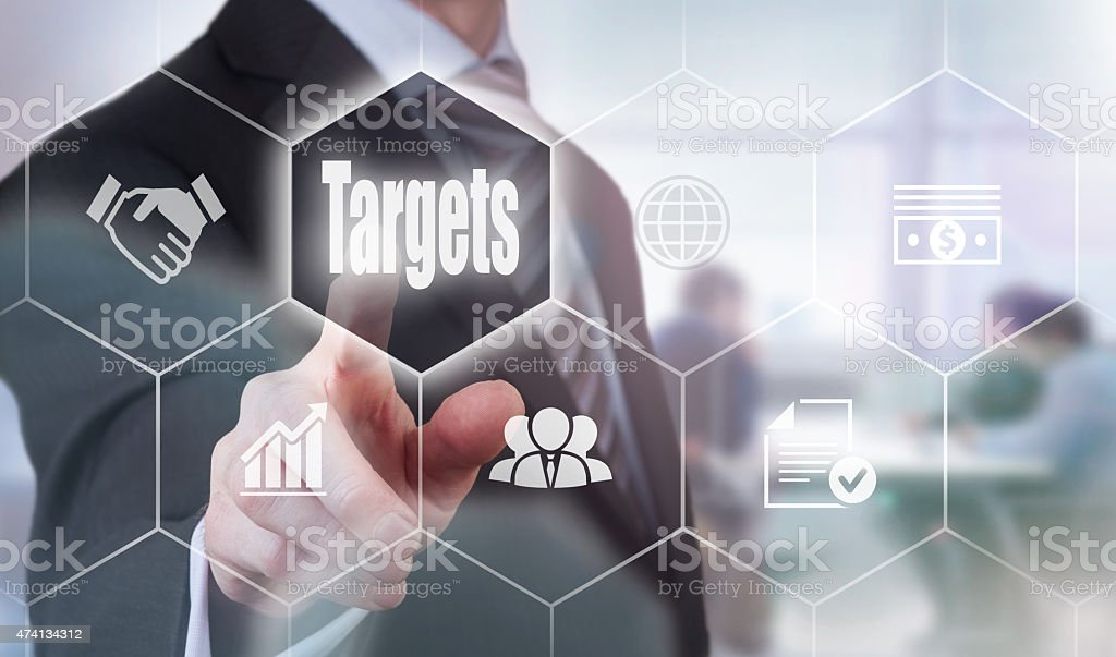 Business Targets Concept stock photo