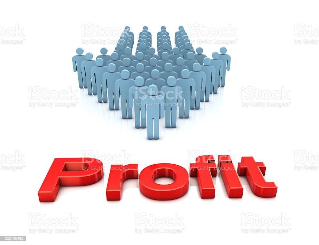 Business Team and Profit stock photo
