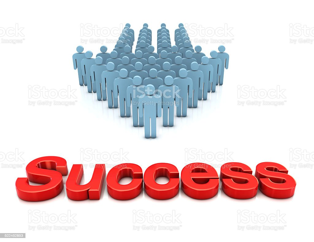 Business Team and Success stock photo