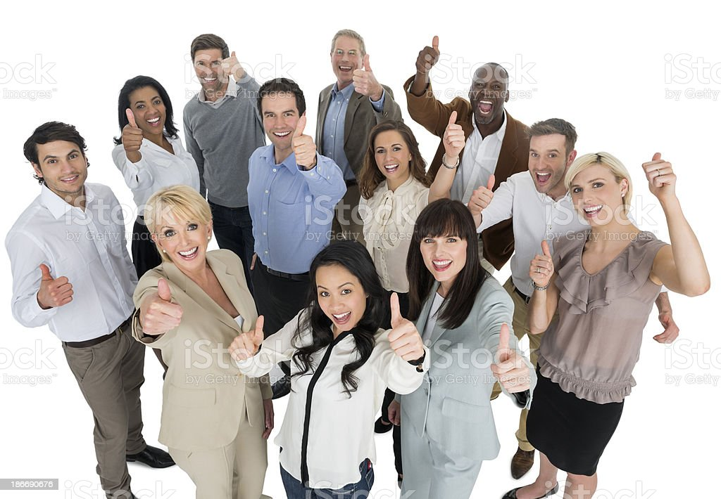 Business Team Approval stock photo