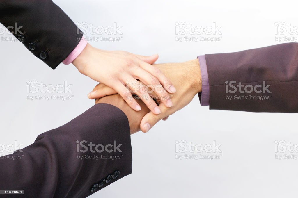business team collaboration royalty-free stock photo