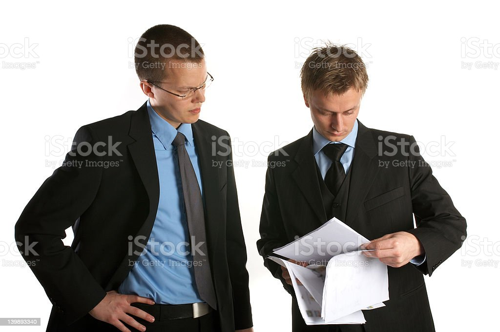 Business team discussing. royalty-free stock photo