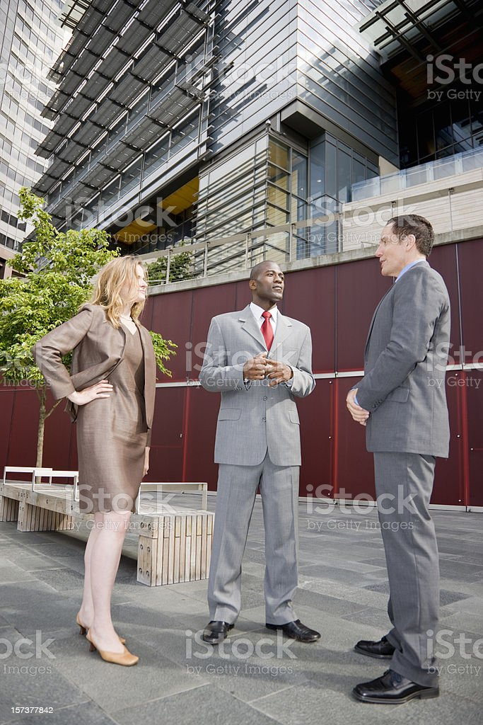 Business Team Discussion royalty-free stock photo