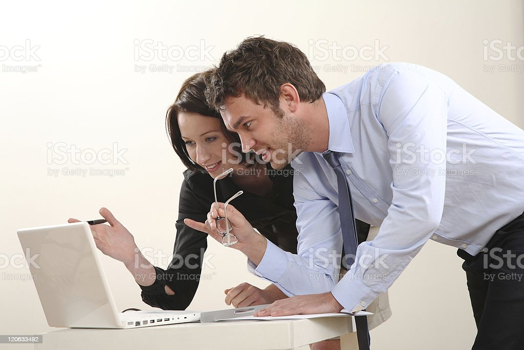 Business Team energetic stock photo