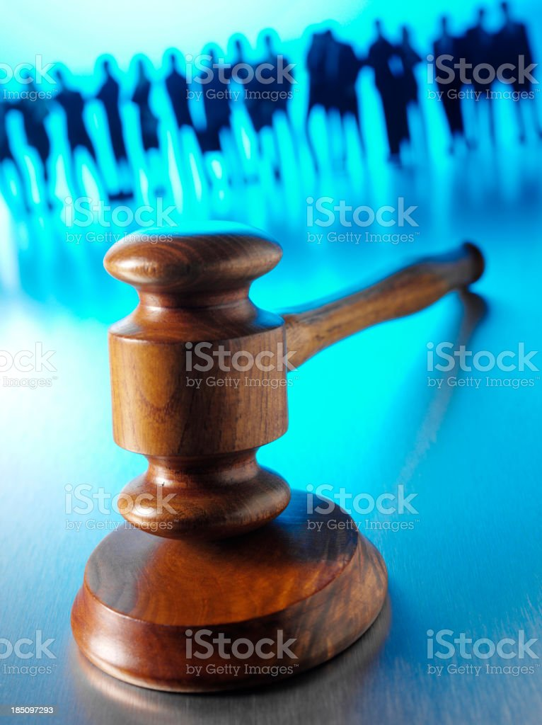 Business Team in Law royalty-free stock photo