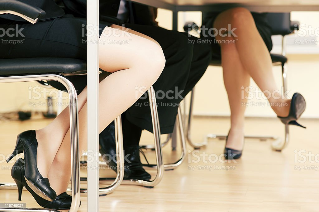 Business team in meeting royalty-free stock photo