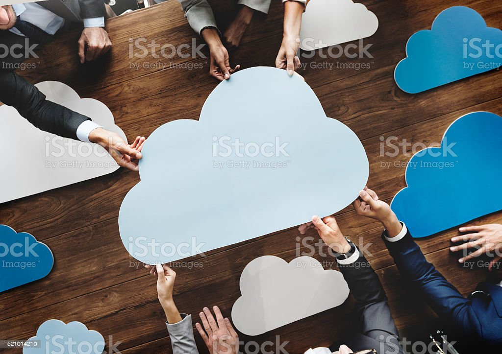 Business Team Meeting Discussion Working Concept stock photo
