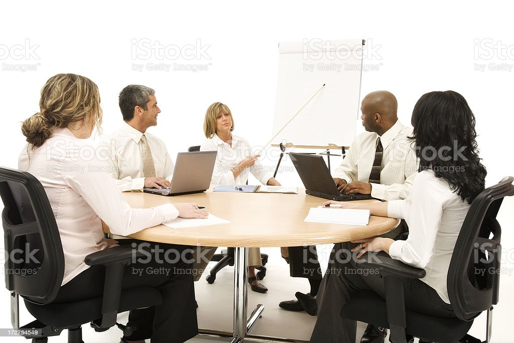 Business Team Meeting royalty-free stock photo