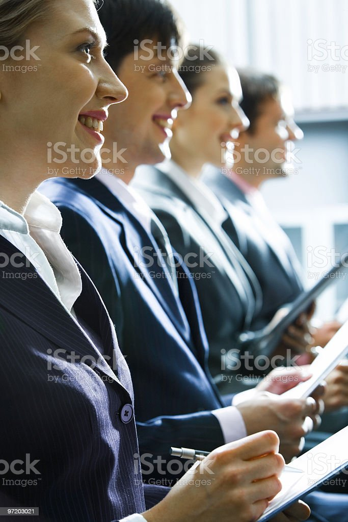 Business team royalty-free stock photo