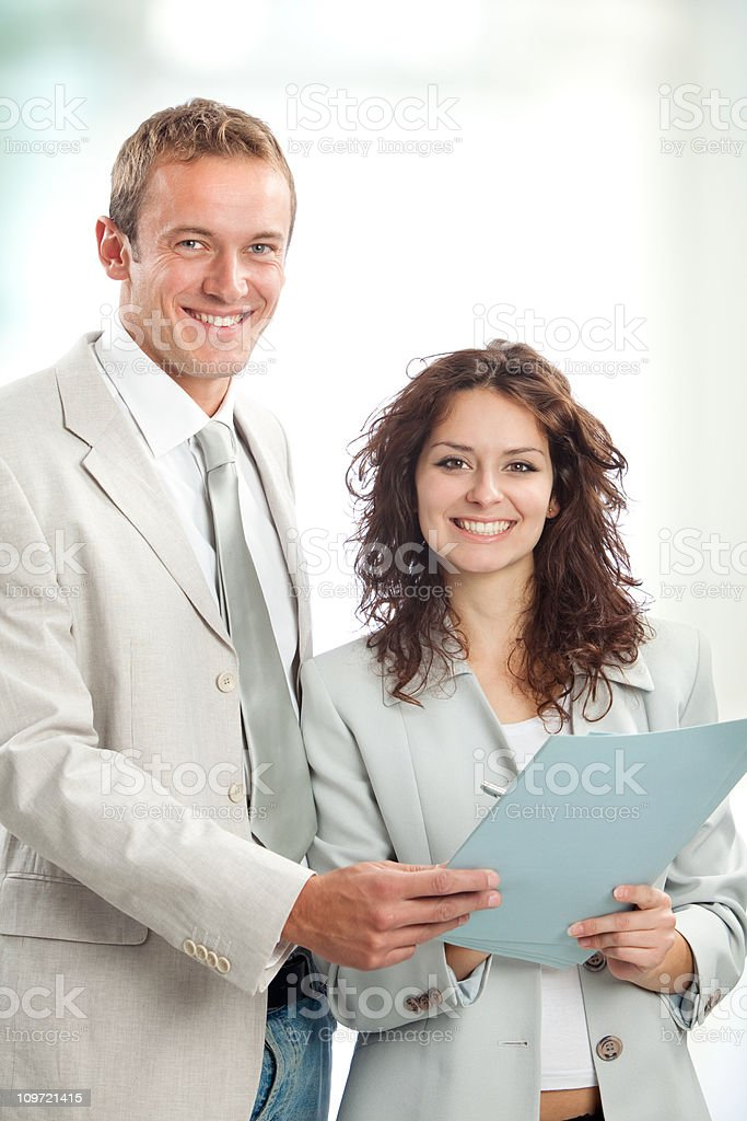 business team portrait at office royalty-free stock photo