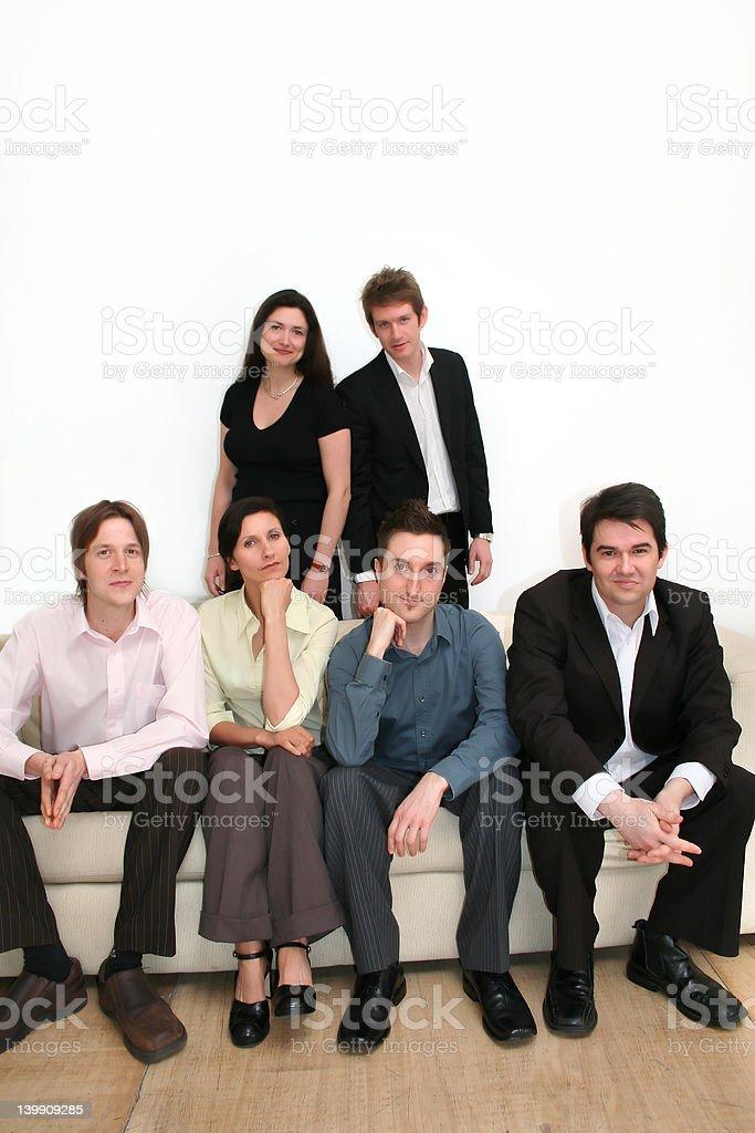 Business Team - Portrait royalty-free stock photo