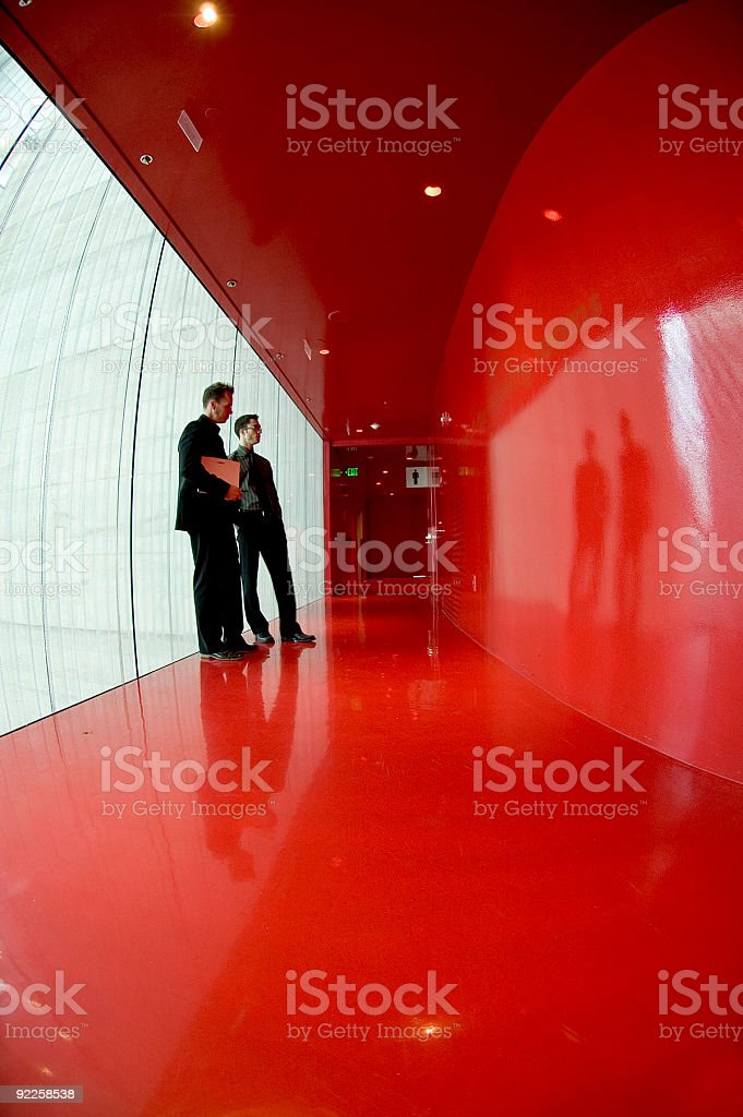 Business Team - Red Room 1 stock photo
