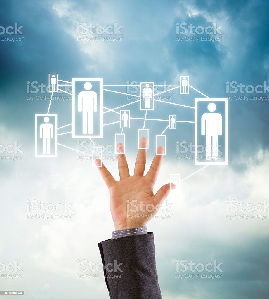 Business Team / Social Network royalty-free stock photo