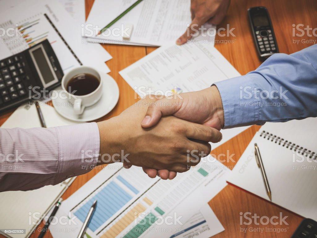 Business Team Teamwork Partnership, Together Concept. stock photo