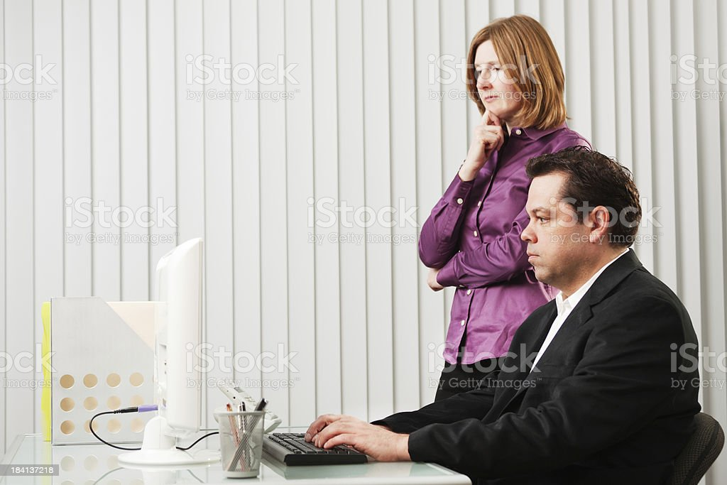 Business Team working Together in Office Hz stock photo