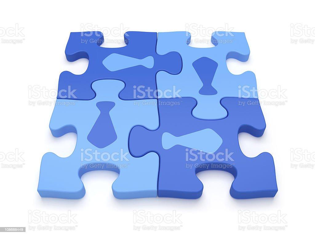 Business Teamwork Concept stock photo