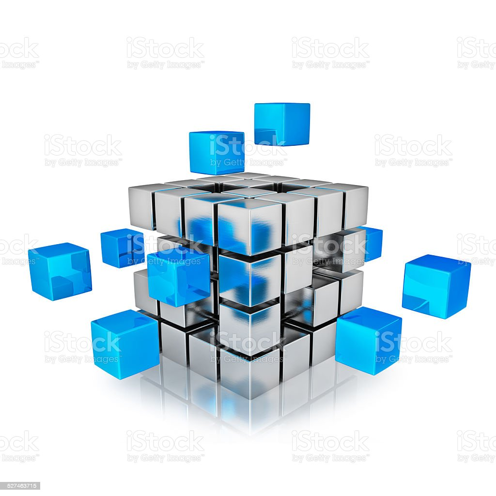 Business teamwork internet communication concept stock photo
