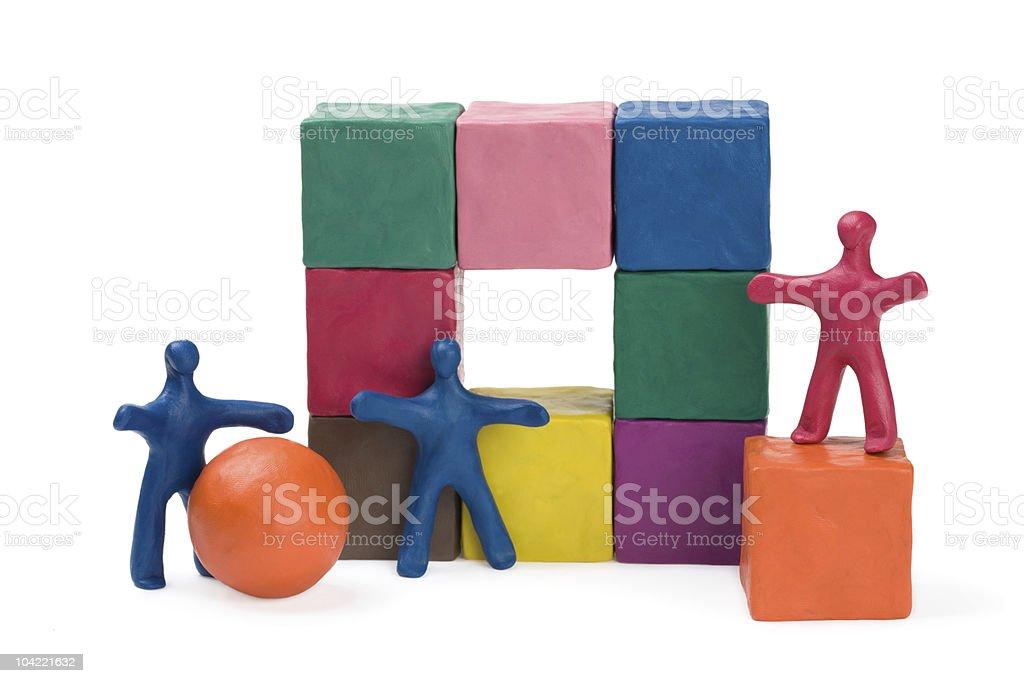 Business teamwork royalty-free stock photo