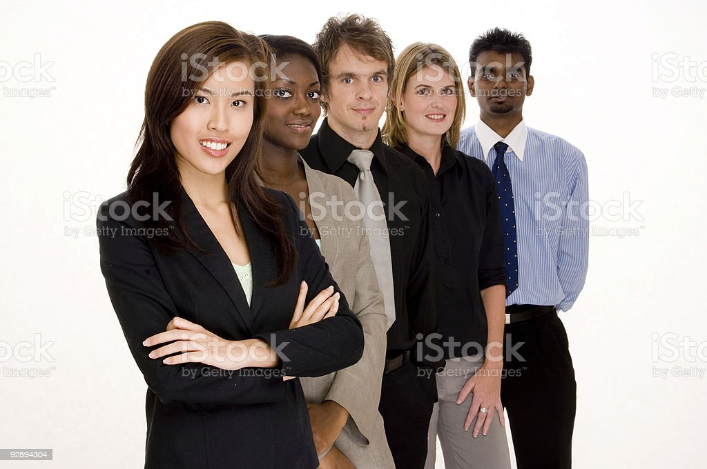 Business Teamwork royalty-free stock photo
