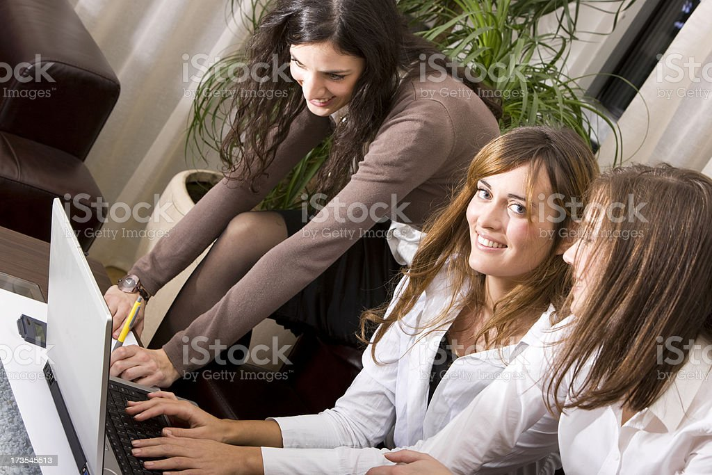 Business teamwork XXL royalty-free stock photo