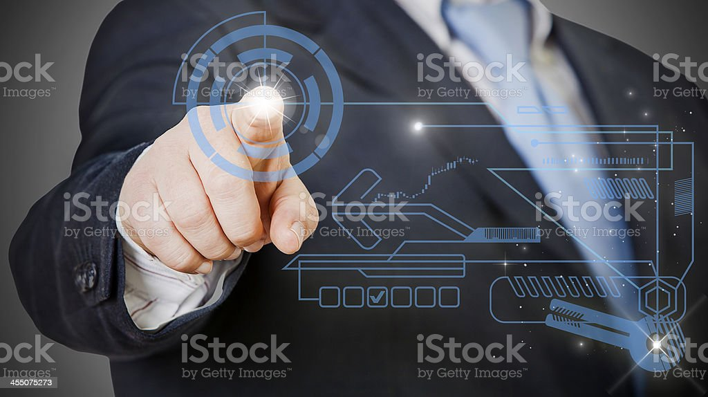 business Technology royalty-free stock photo