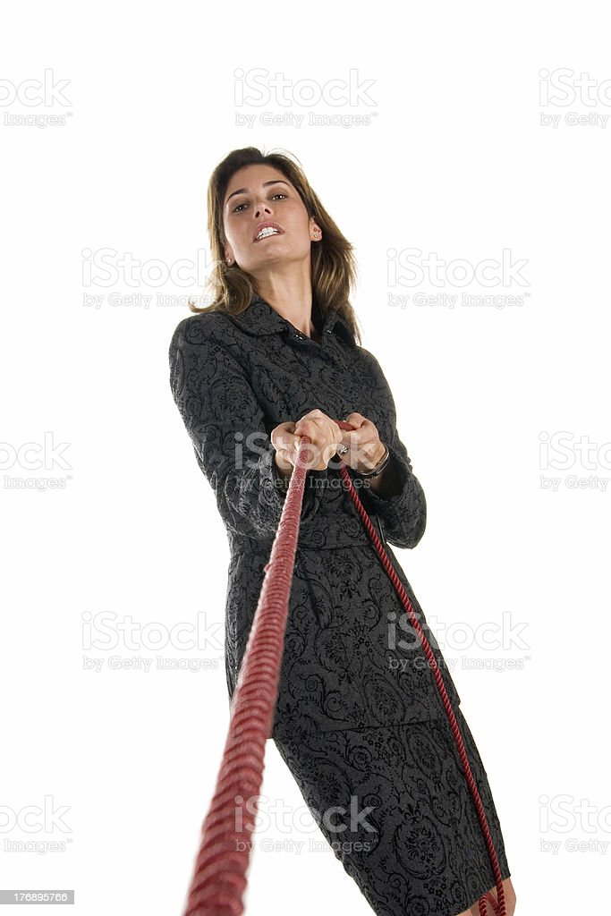 Business tension stock photo