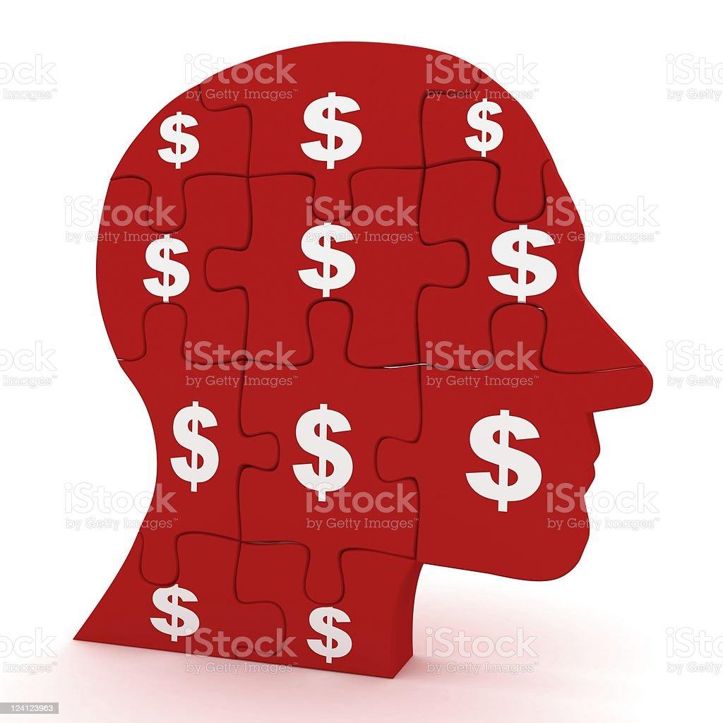 Business Thinking royalty-free stock photo