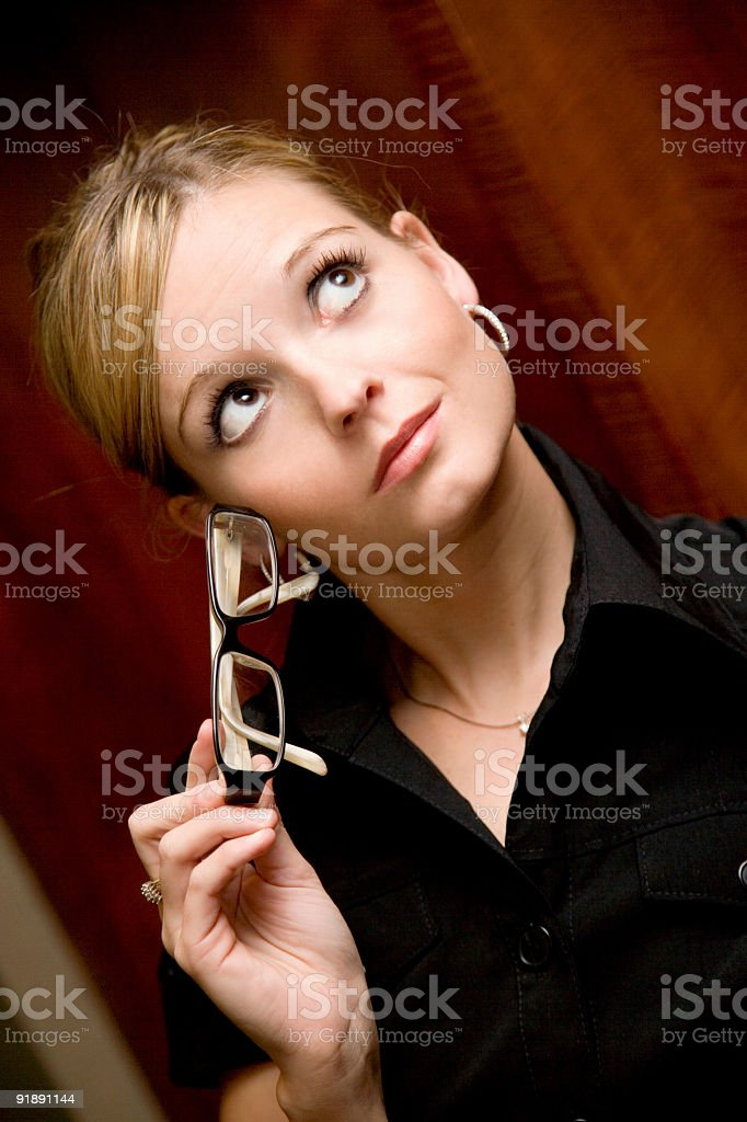 Business Thoughts stock photo