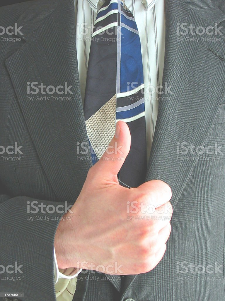 Business - Thumbs Up 2 royalty-free stock photo