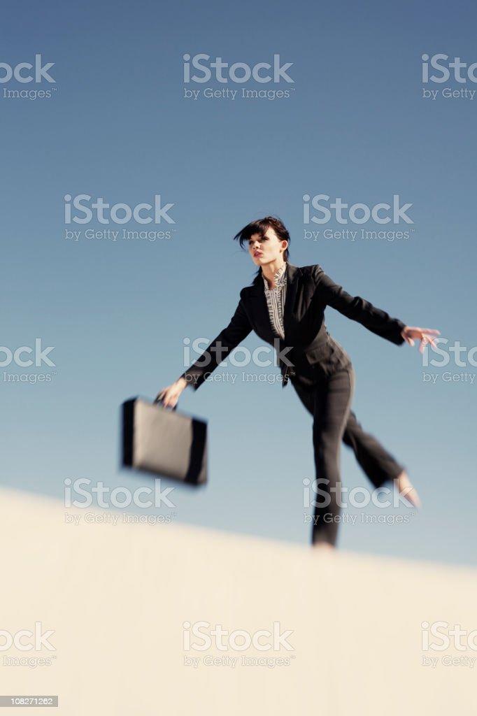 Business Tight Walk royalty-free stock photo
