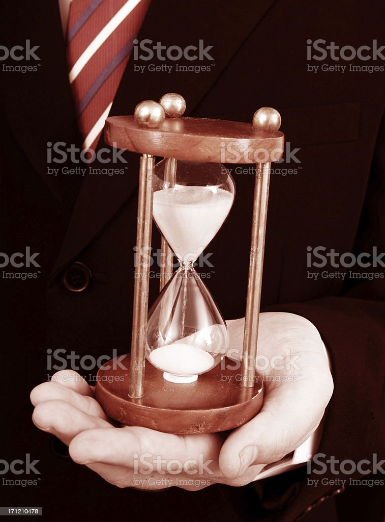 Business Time royalty-free stock photo