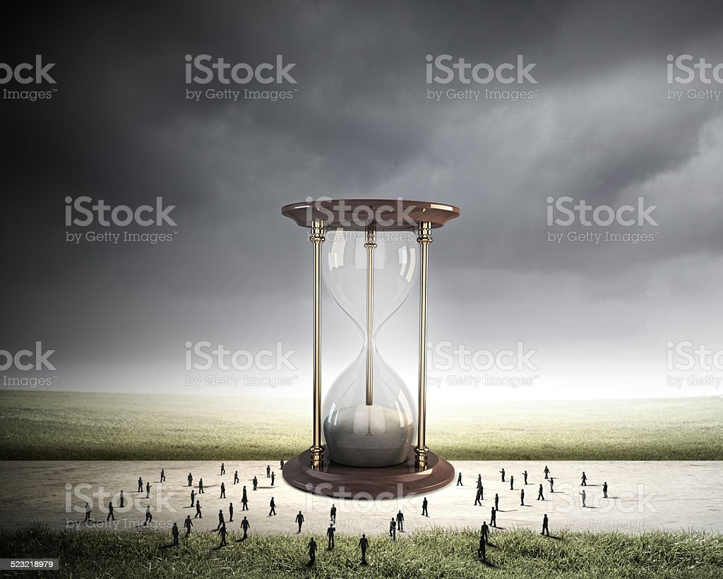 Business time stock photo