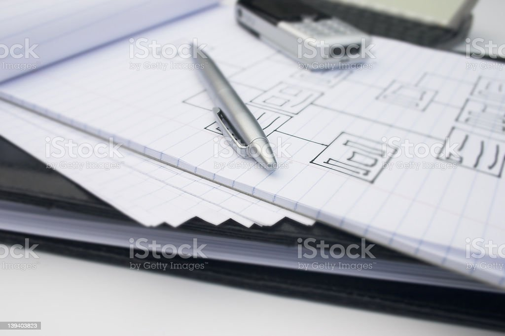 Business tools royalty-free stock photo