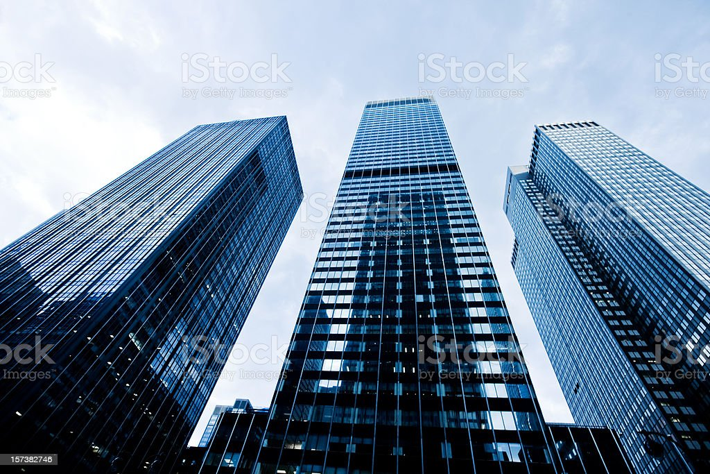 Business tower in NY royalty-free stock photo