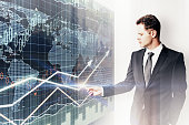 Business trading concept