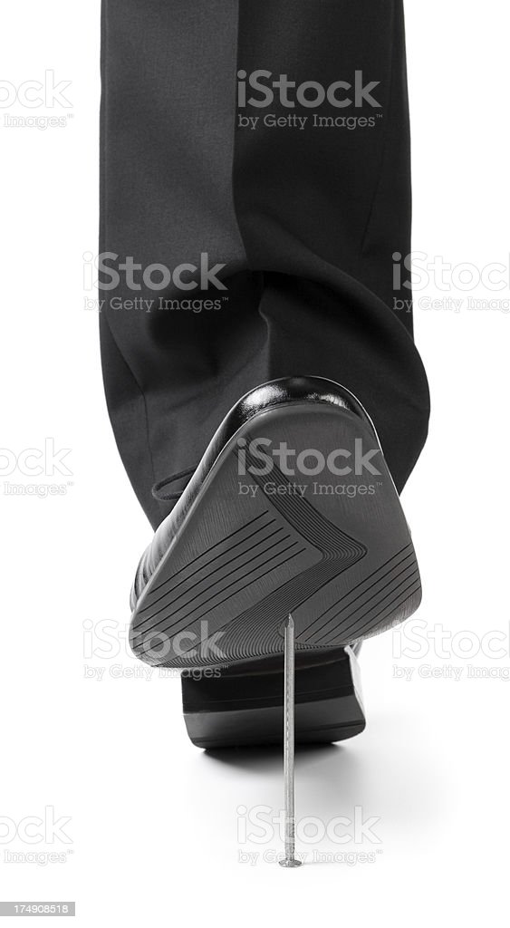 Business trap royalty-free stock photo