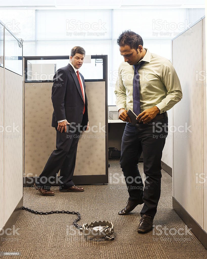 Business Trap stock photo