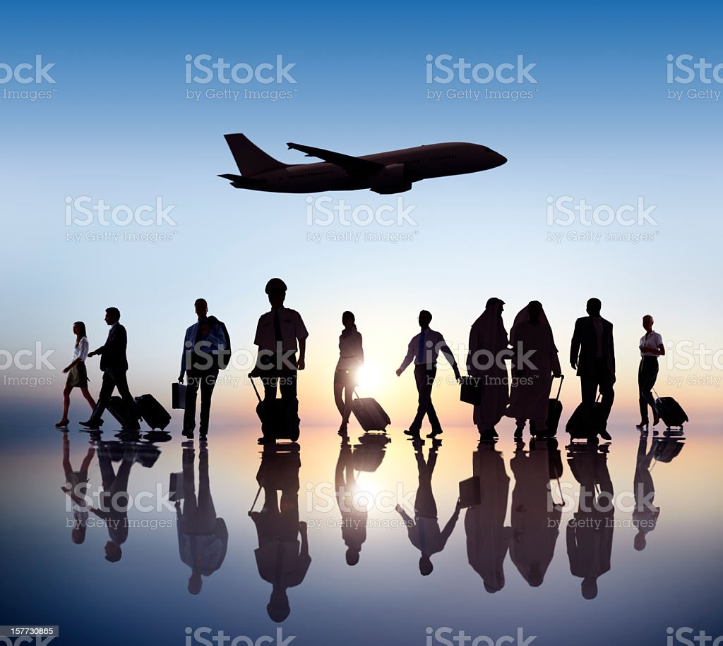 Business Travel. royalty-free stock photo