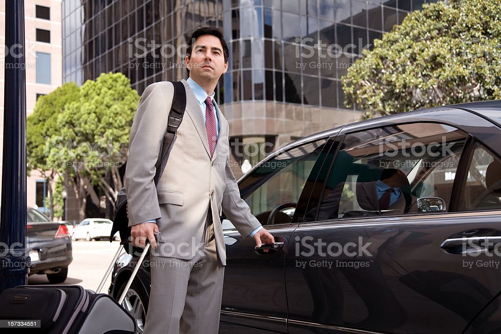 Business Traveler royalty-free stock photo