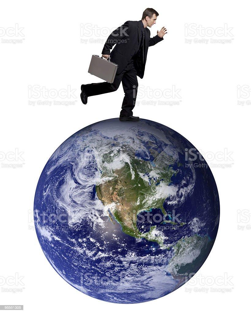 Business traveler royalty-free stock photo