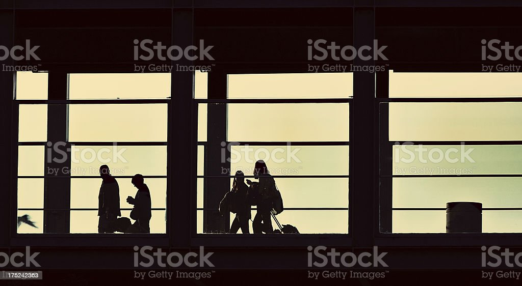 Business travelers royalty-free stock photo
