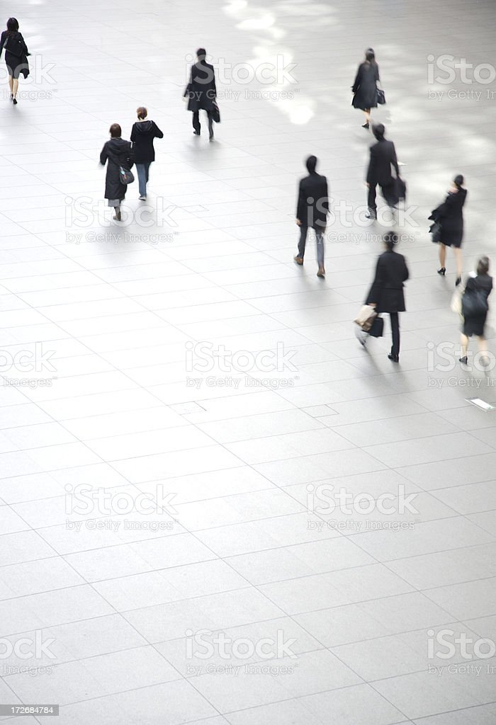 Business travellers royalty-free stock photo