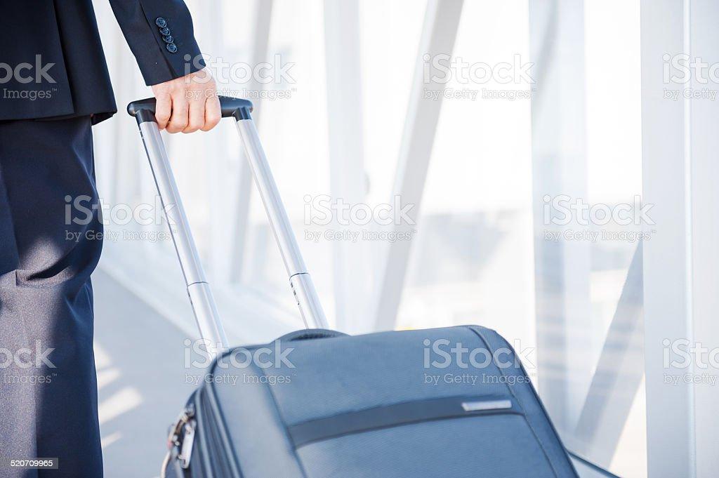 Business trip. stock photo