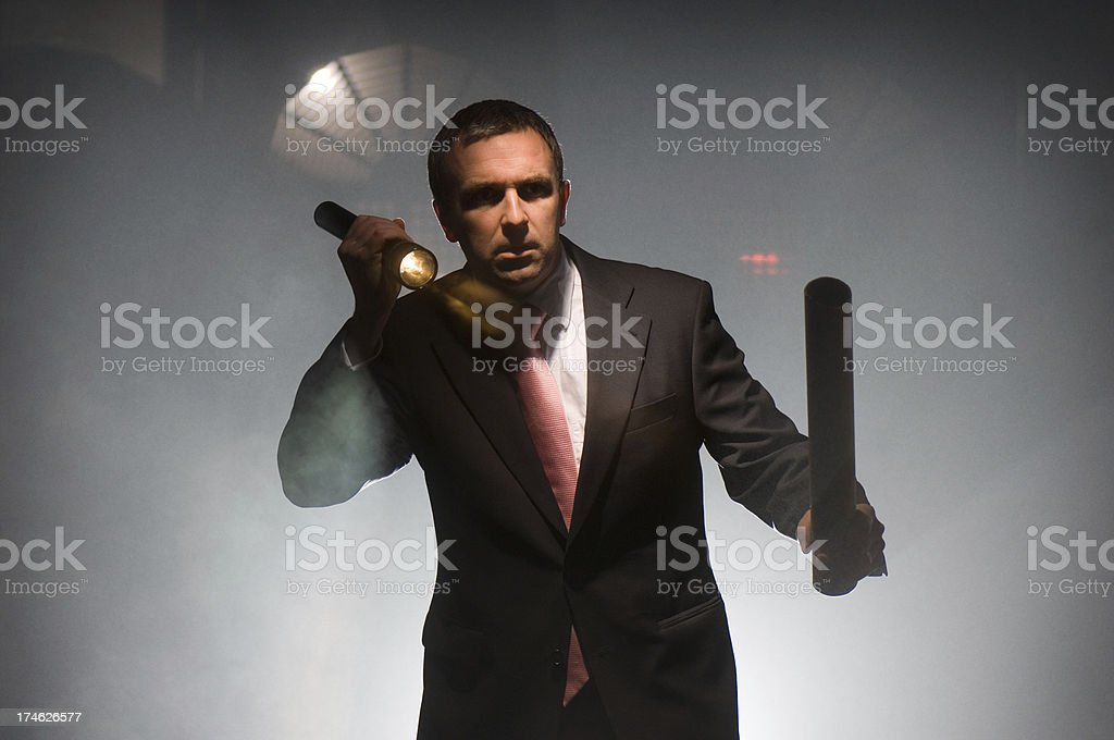 business under attack royalty-free stock photo