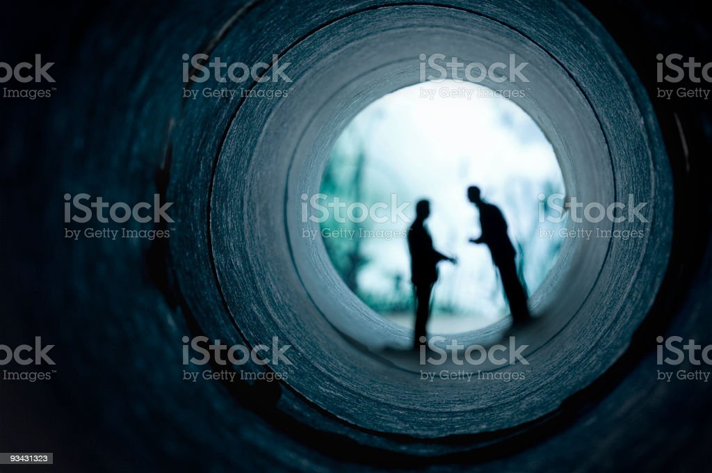 Business Underworld stock photo